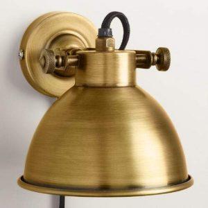 Brass Wall Bedside Lamps